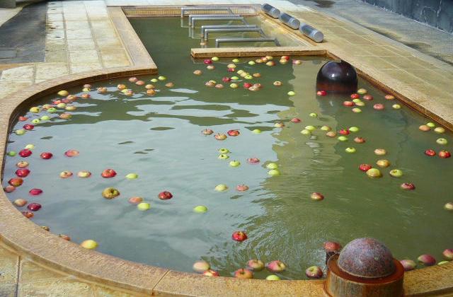 りんごの湯(露天)