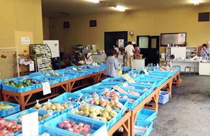 農産物直売所(併設)